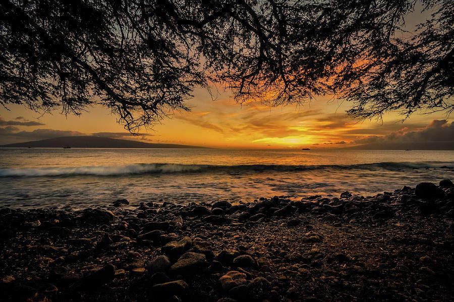 Honoapiilani Highway Sunset Photograph