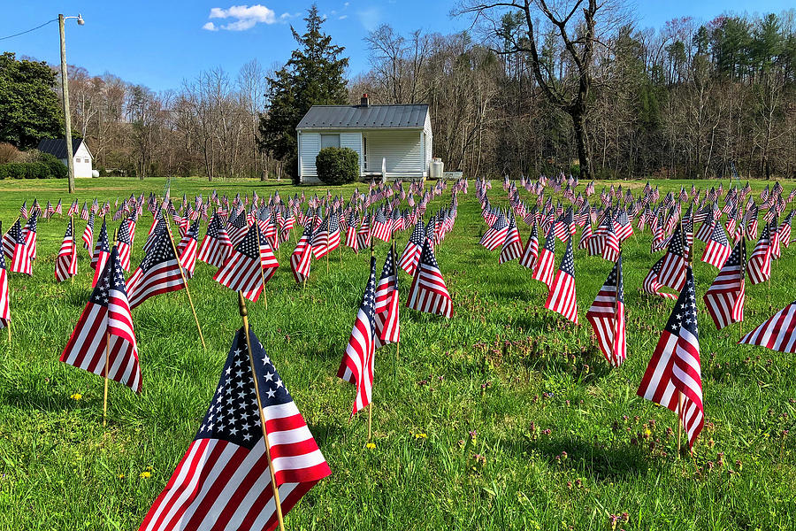 Honor For The Flag Photograph