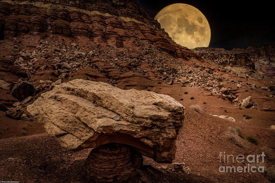 Hoodoo Moon Photograph