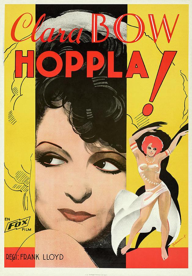 hoop-la, With Clara Bow, 1933 Mixed Media