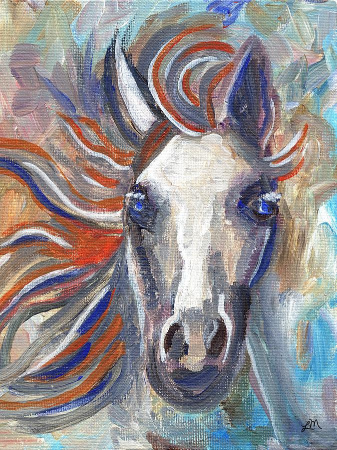Horse Portrait 101 Painting