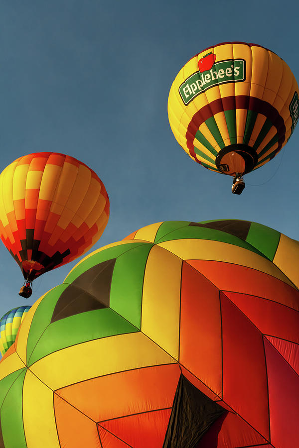 Arizona Photograph - Hot Air Balloon Launch  by Jack and Darnell Est