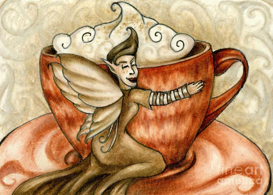 Hot Chocolate Fairy by Kristin Aquariann