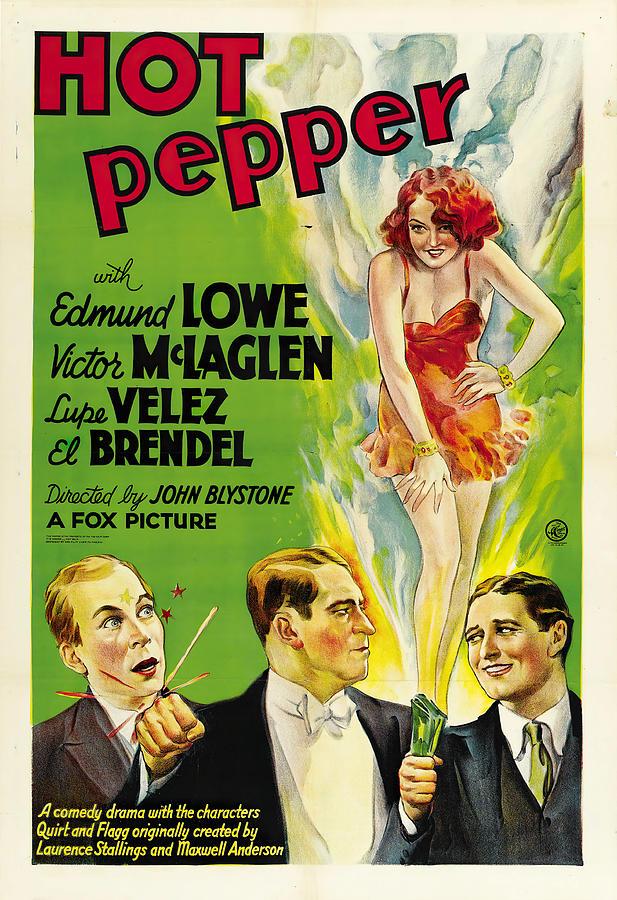 hot Pepper, 1933 Mixed Media