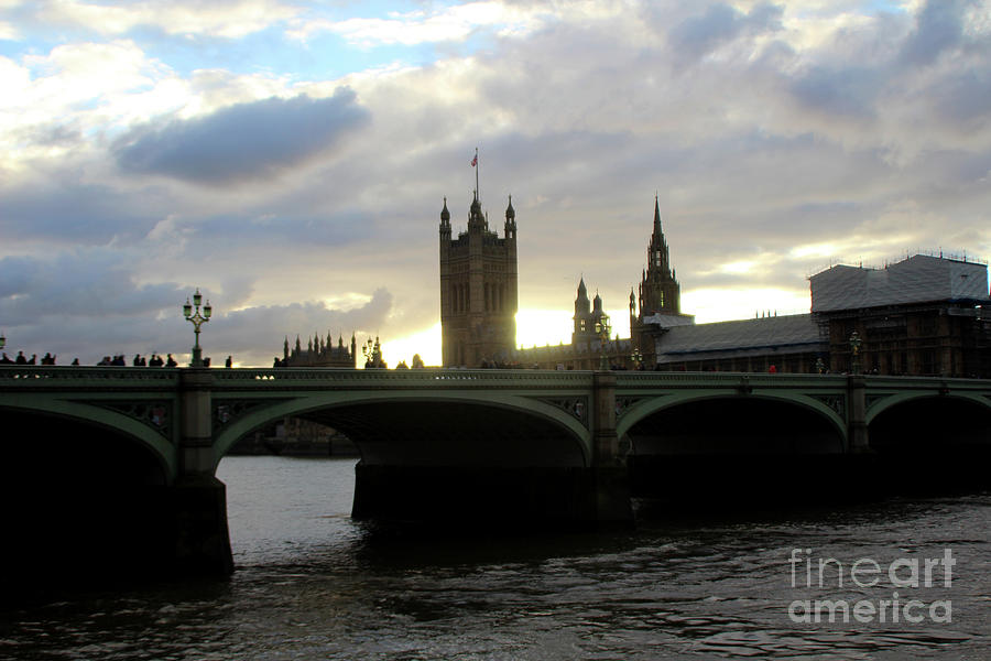 Houses of Parliament - Study I by Doc Braham