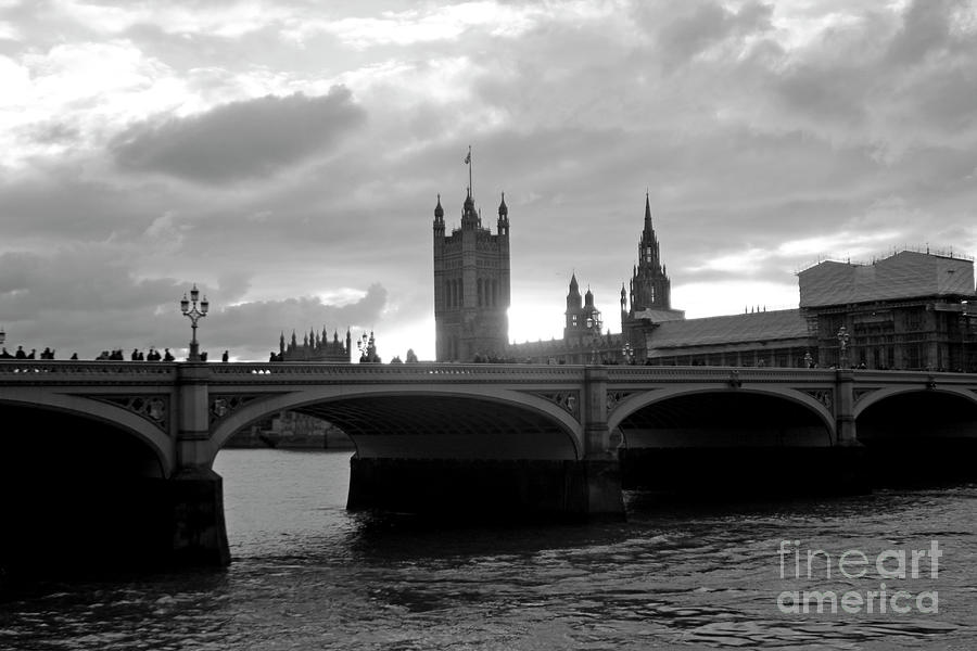 Houses of Parliament - Study II by Doc Braham