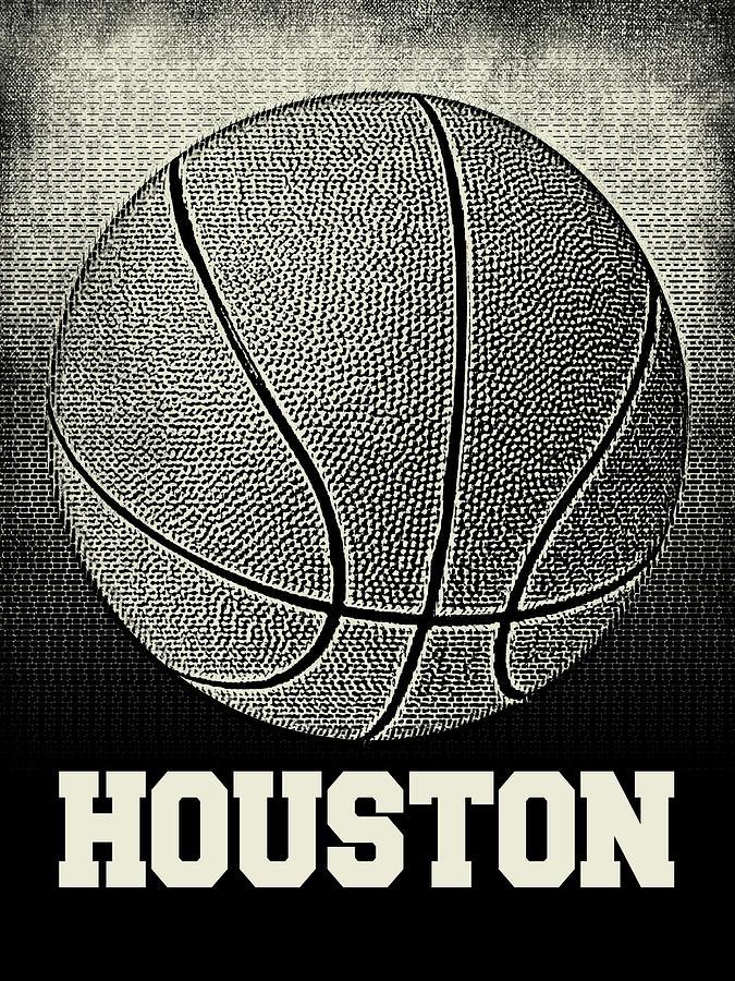 Houston Basketball - Sports by Flo Karp