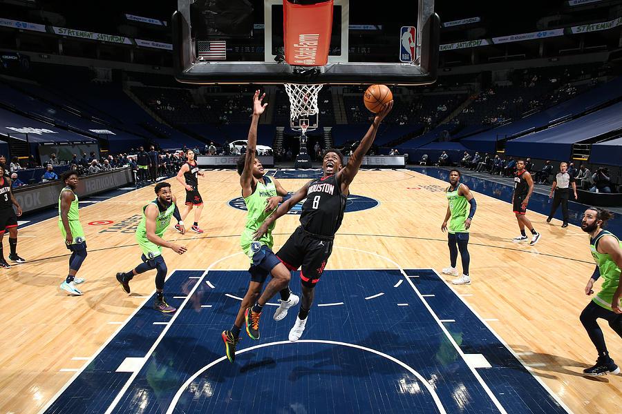 Houston Rockets v Minnesota Timberwolves Photograph by David Sherman