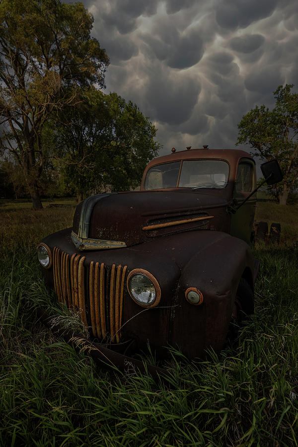 Truck Photograph - How Can I Hold On by Aaron J Groen