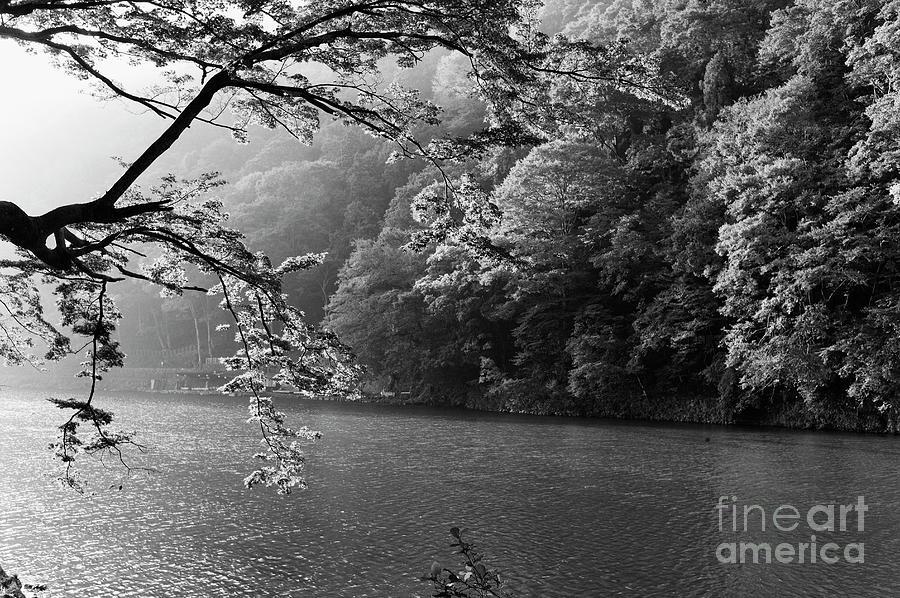 Hozugagwa River, Arashiyama Mountain Western Kyoto Photograph