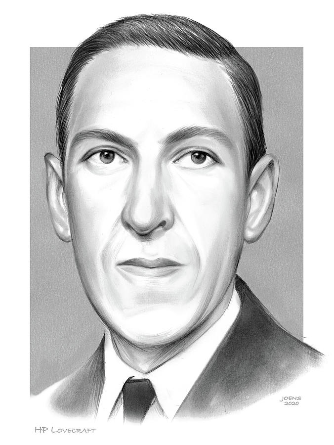 Hp Lovecraft Drawing