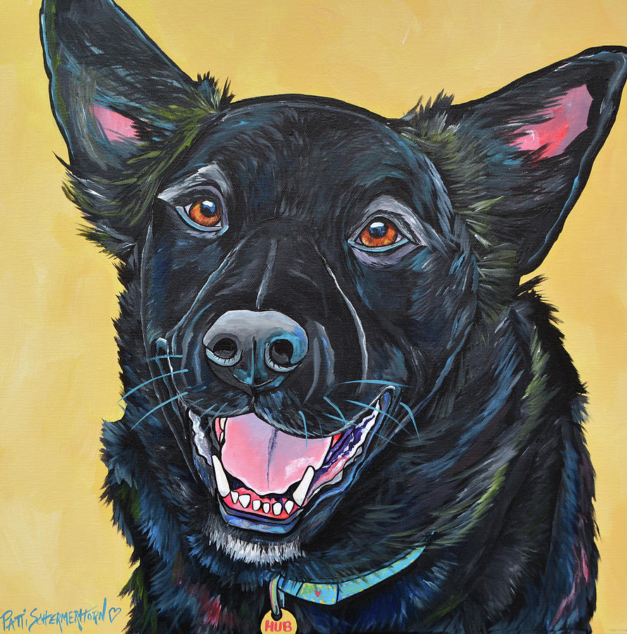 Hub the Australian Kelpie by Patti Schermerhorn