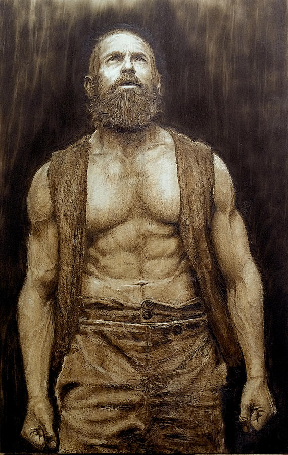 Hugh Jackman Wood Burning Pyrography Pyrography By Ivan Tokushev