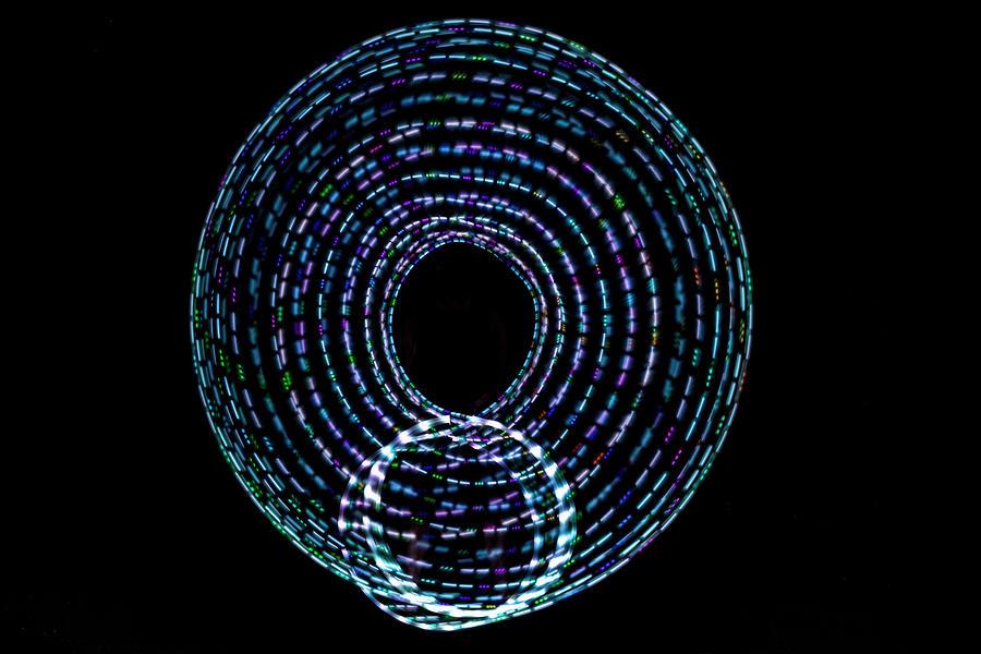 Hula Hoop Abstract_06 Photograph