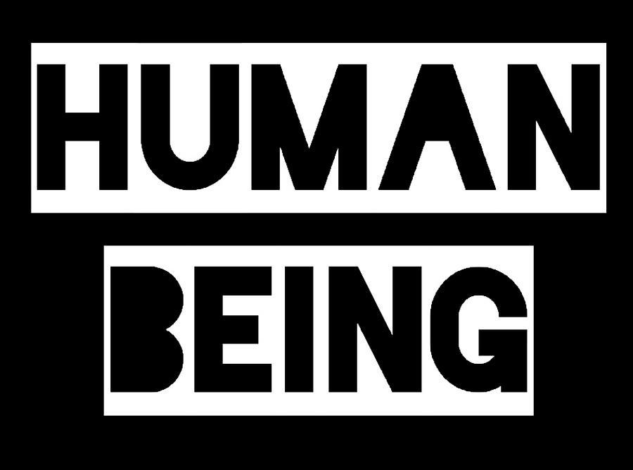 Human Being Painting by Clayton Singleton