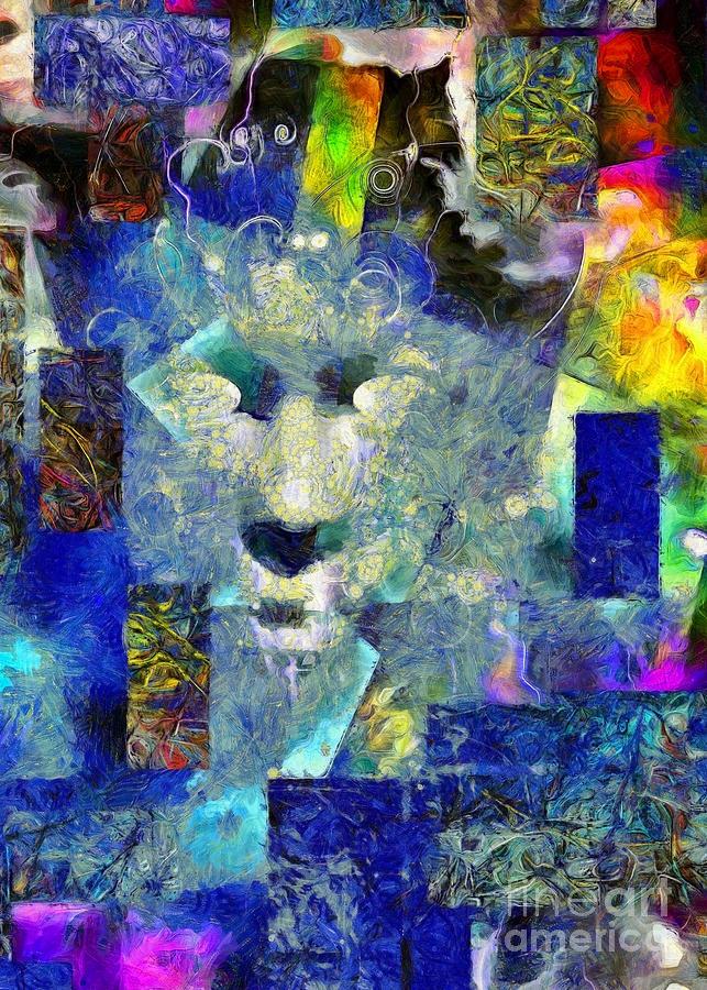 Human Face Digital Art