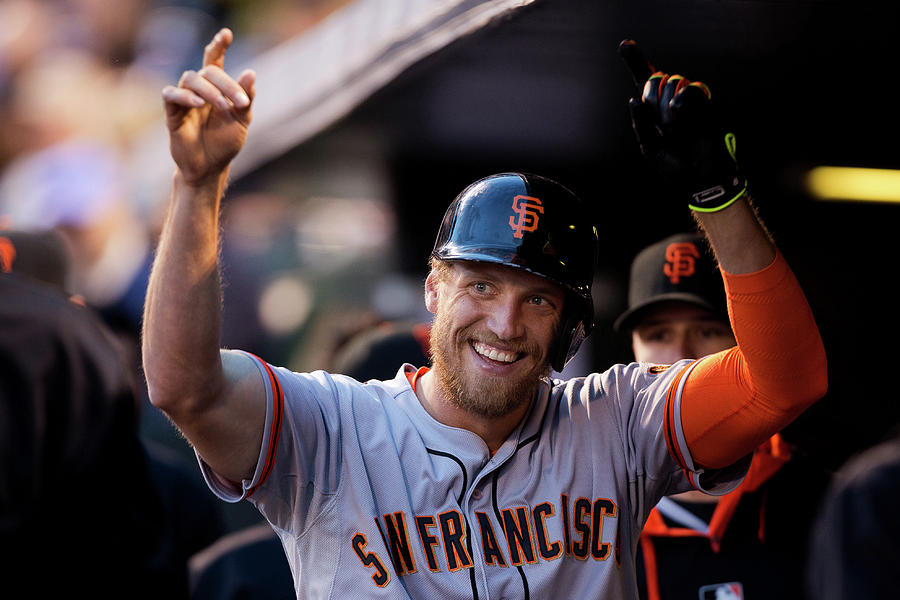 Hunter Pence Photograph by Justin Edmonds