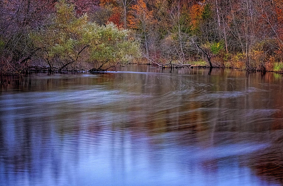 Huron River Bend by Tom Singleton