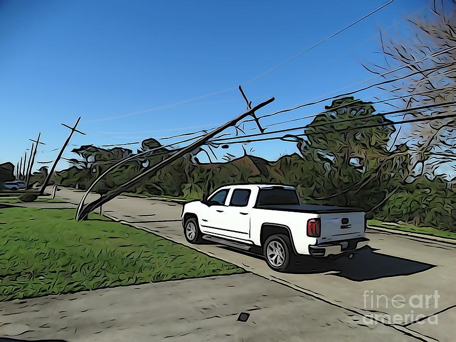Hurricane Zeta 2020 Hurricane Season Mixed Media