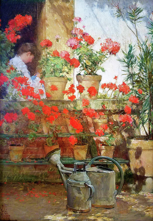 Frederick Childe Hassam Painting - Hyde Collection - Digital Remastered Edition by Frederick Childe Hassam