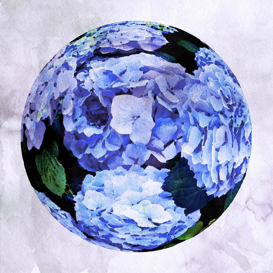 Hydrangea Sphere by Susan Maxwell Schmidt
