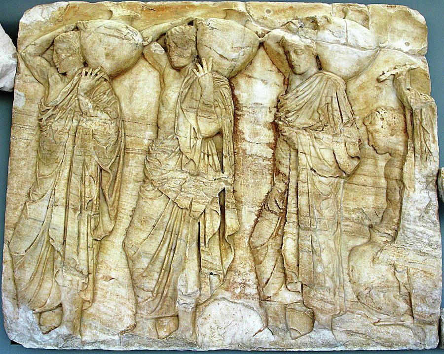 Parthenon Marbles Photograph - Hydria Bearers by Andonis Katanos