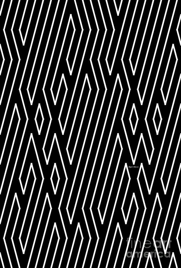 Hypnotic Maze Painting