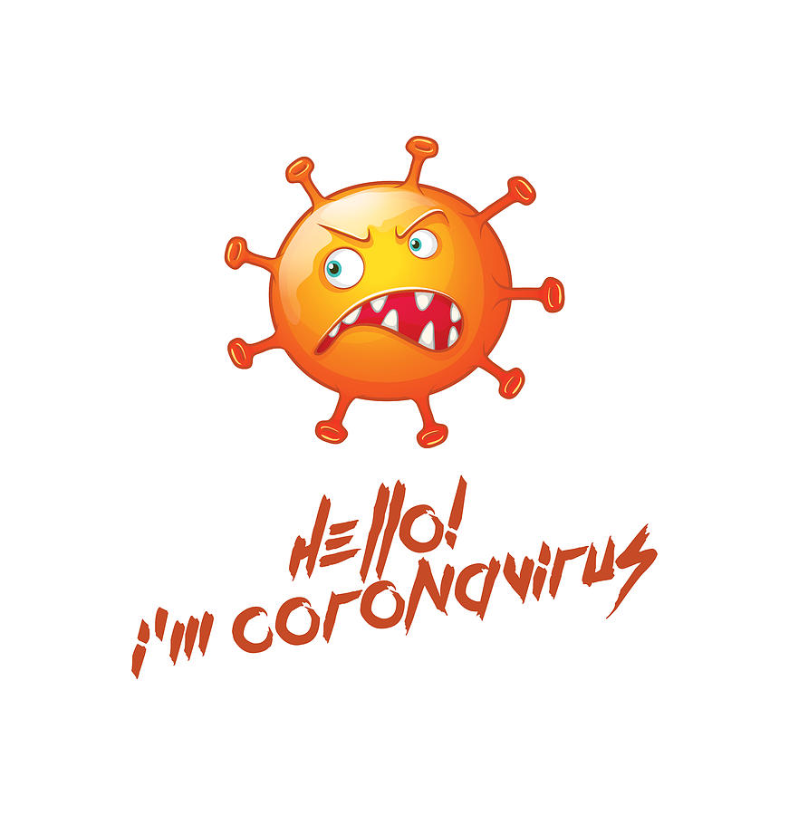 Health Digital Art - I am coronavirus by Stanislav Yatsenko