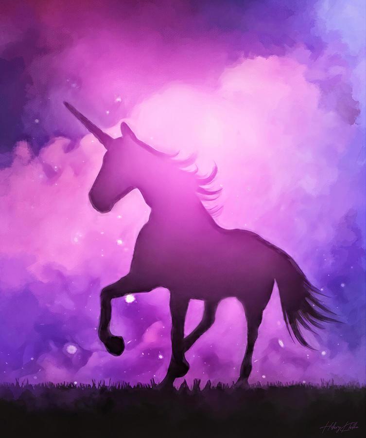 I Believe In Unicorns Painting
