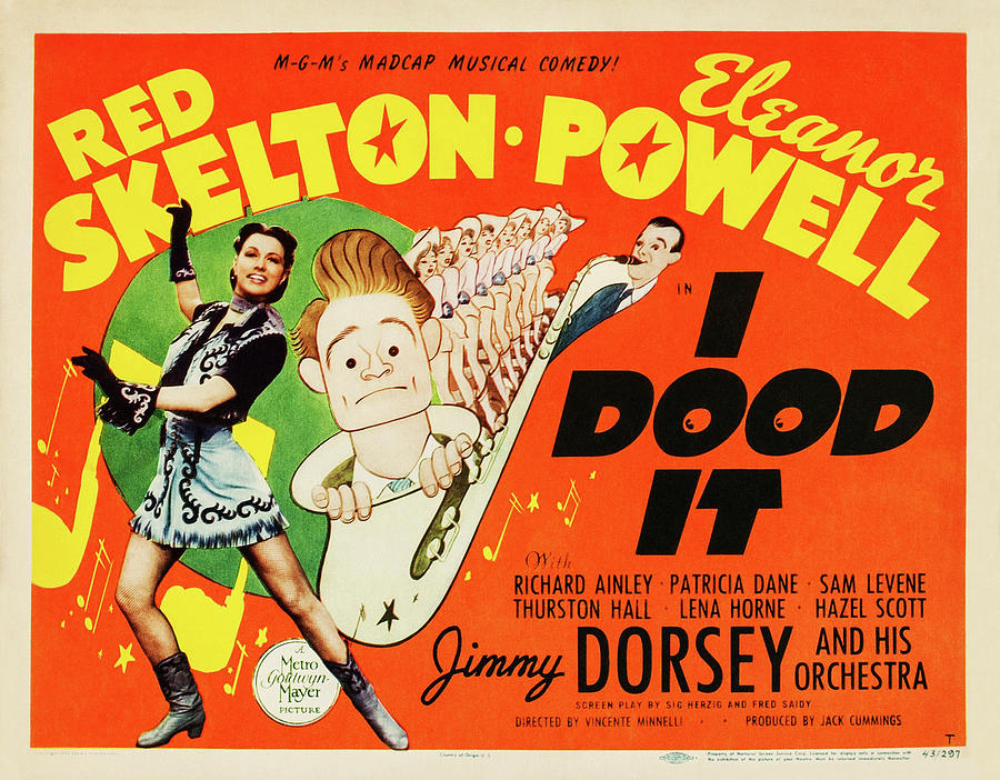 i Dood It, With Red Skelton And Eleanor Powell, 1943 Mixed Media