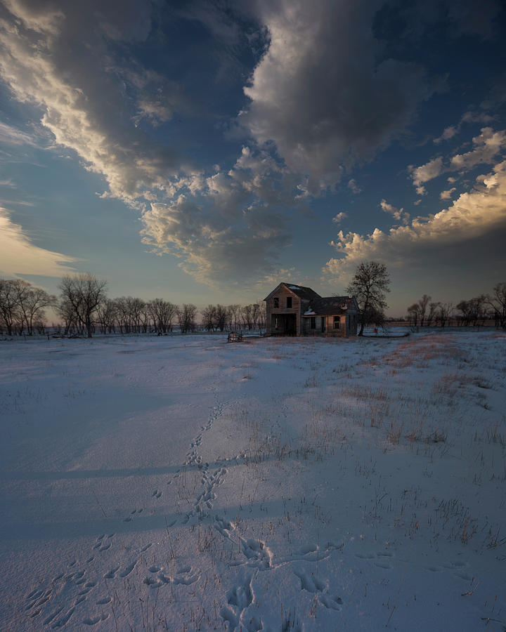 Desolation Photograph - I Dwell Within This Desolation by Aaron J Groen
