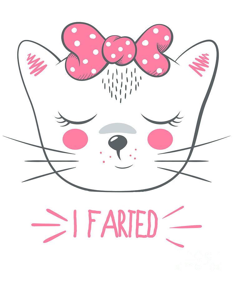 I Farted Funny Cat by Flippin Sweet Gear