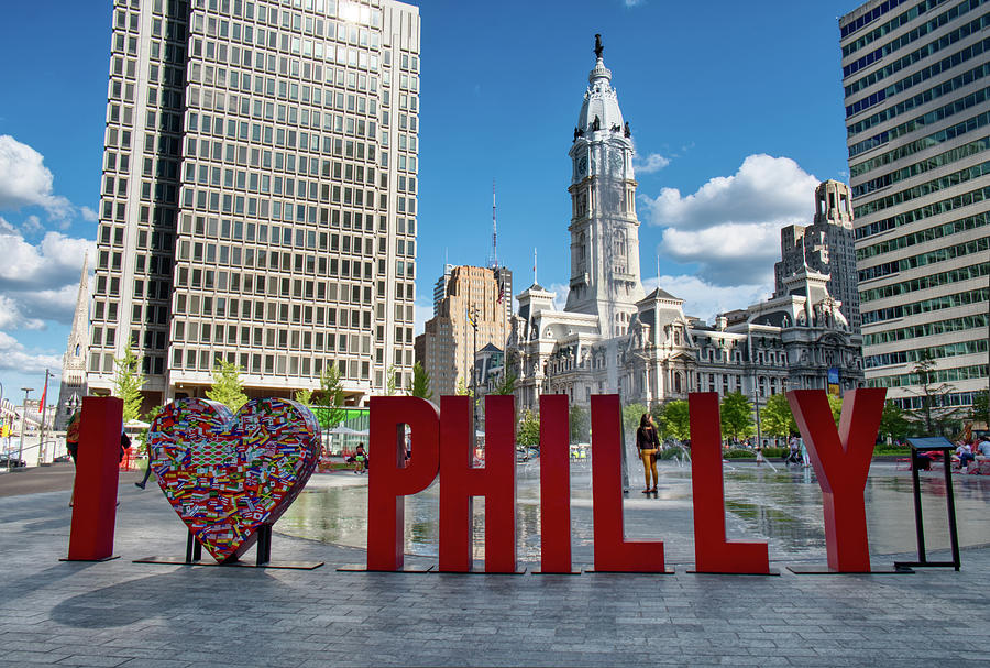 I Love Philly by Mark Dodd