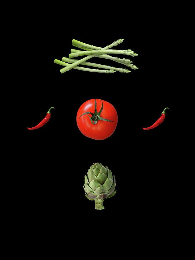 I Love Vegetables Photograph