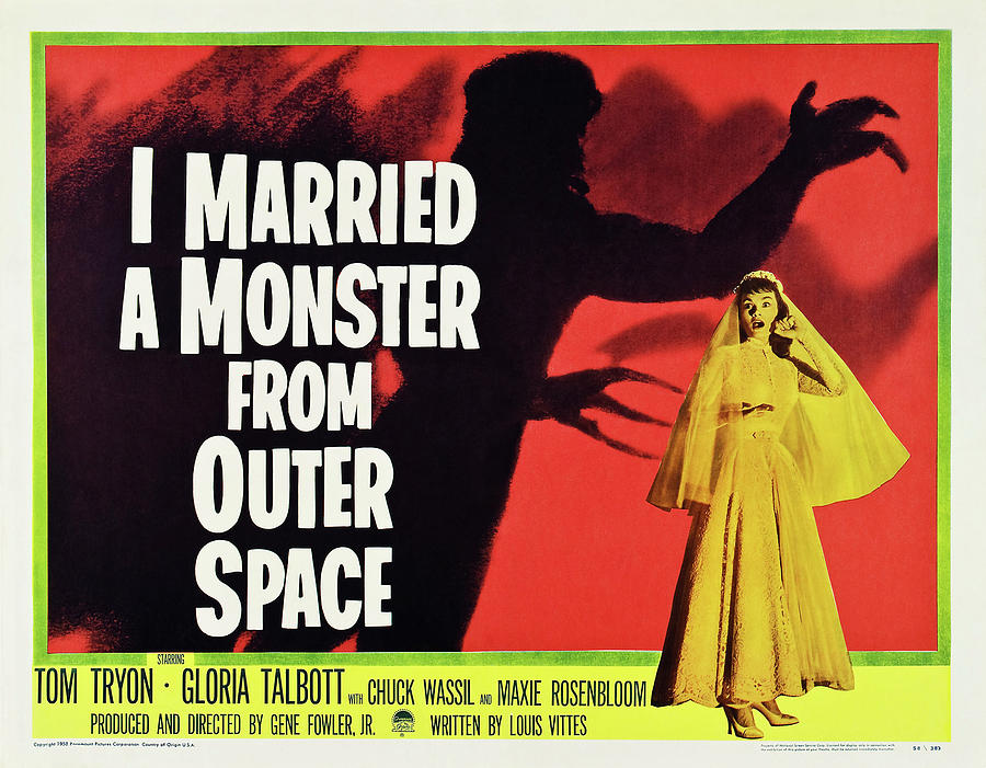 i Married A Monster From Outer Space, 1953 Mixed Media