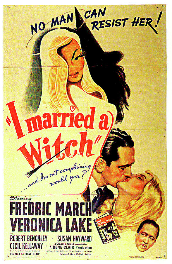 i Married A Witch Poster Mixed Media