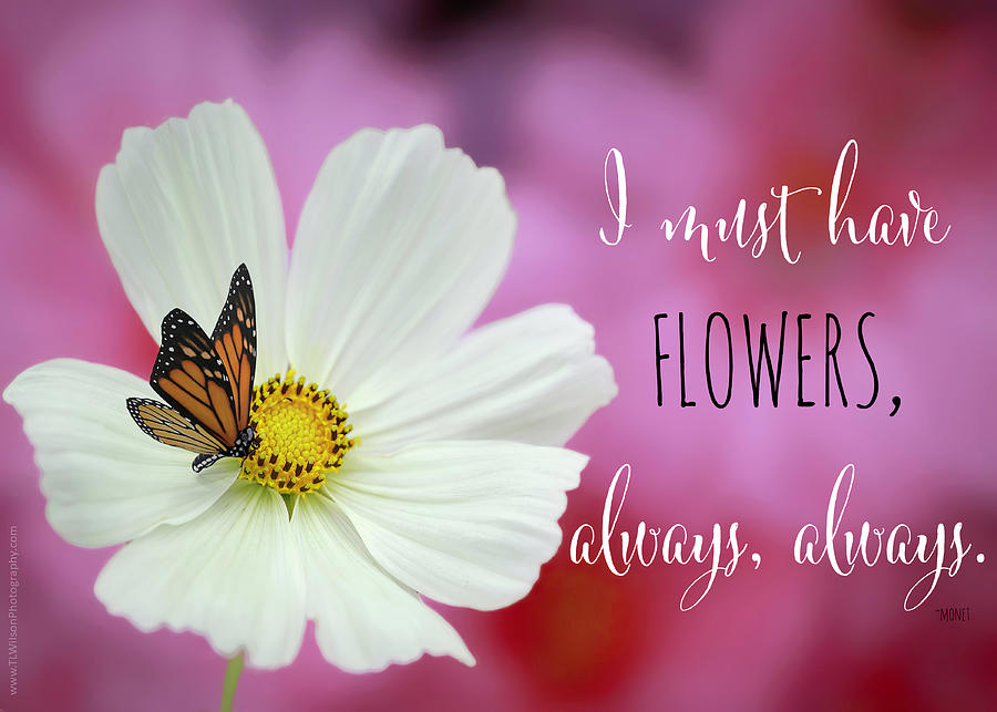 I Must Have Flowers Photograph