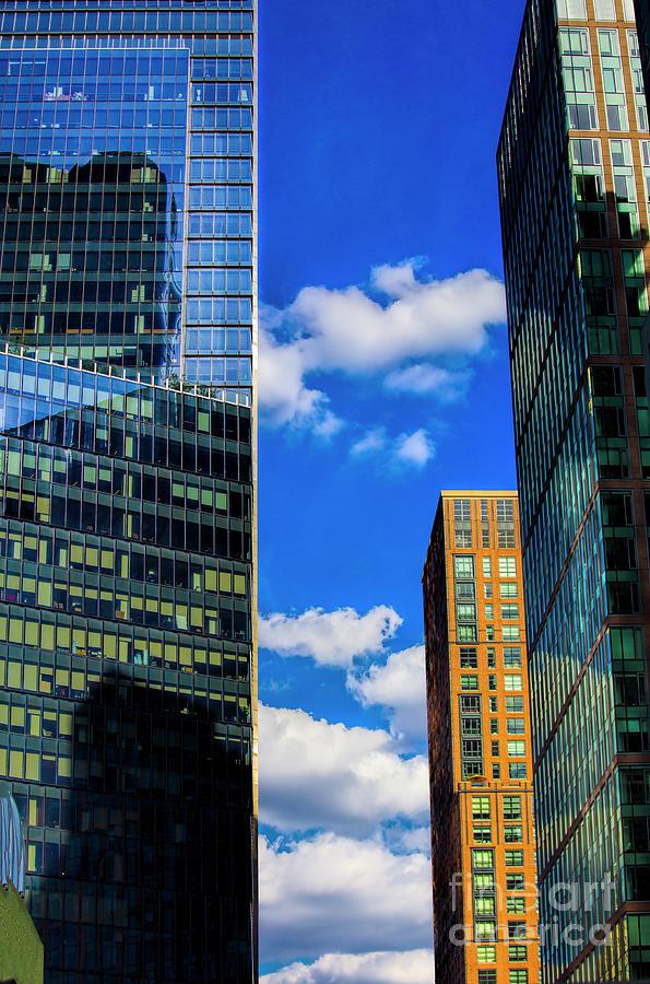 New York Photograph - I See Blue Sky, New York, New York by Felix Lai
