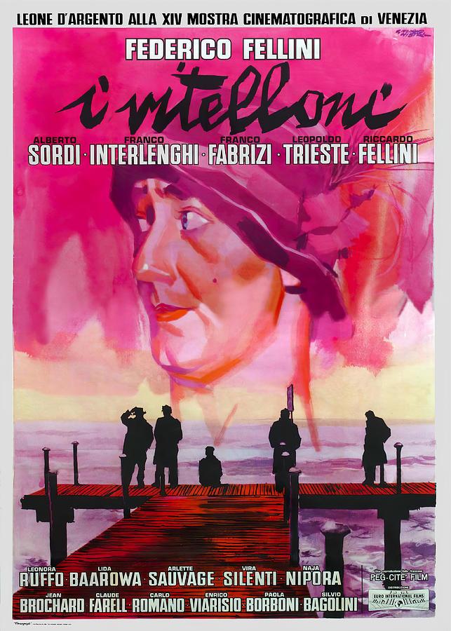 i Vitelloni,by Federico Fellini, 1953 Mixed Media