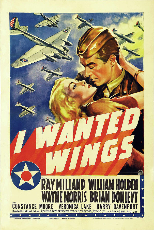 i Wanted Wings, With Ray Milland And William Holden, 1941 Mixed Media