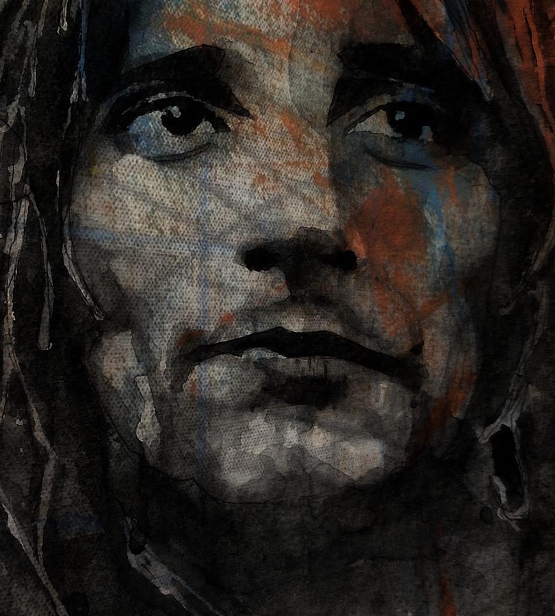 Rod Stewart Painting - I Was Only Joking  by Paul Lovering