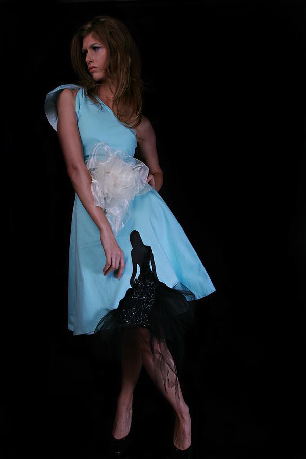 2009 Painting - I Will Love Again Tonight Dress by Ayka Yasis