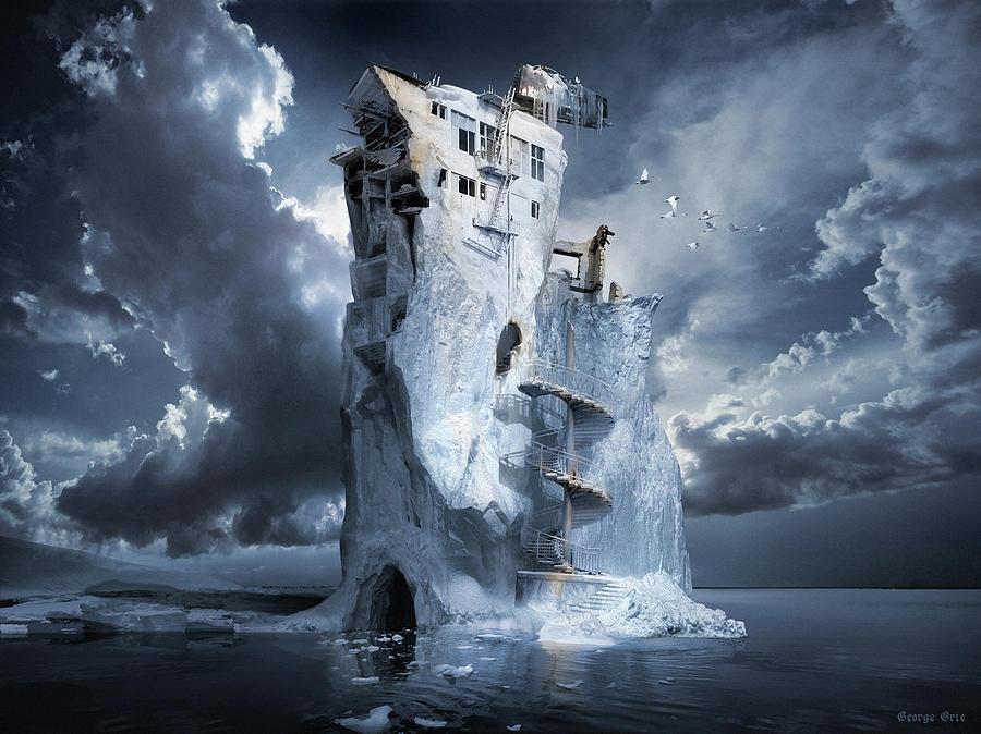 Ice Age Premonition Digital Art