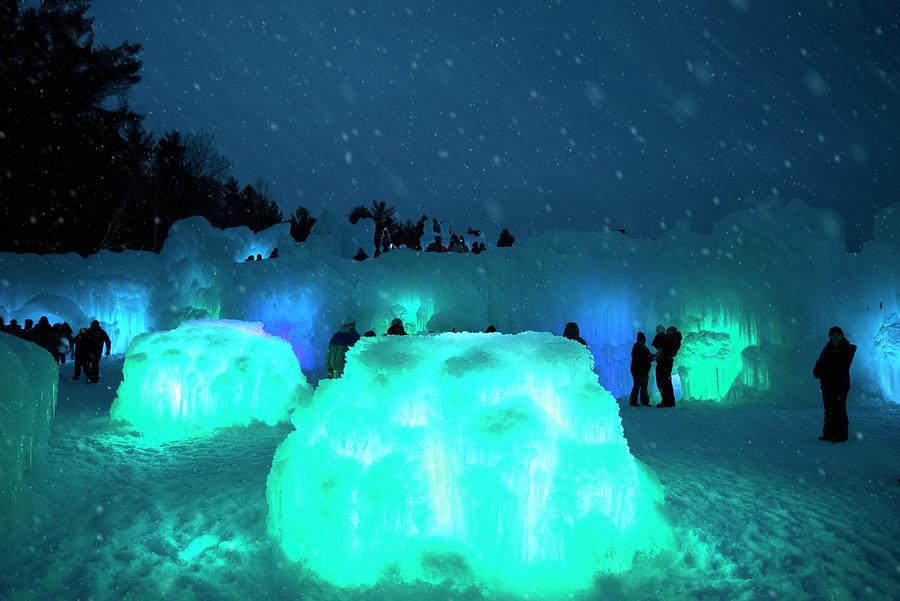 Ice Castles - New Hampshire by Joann Vitali