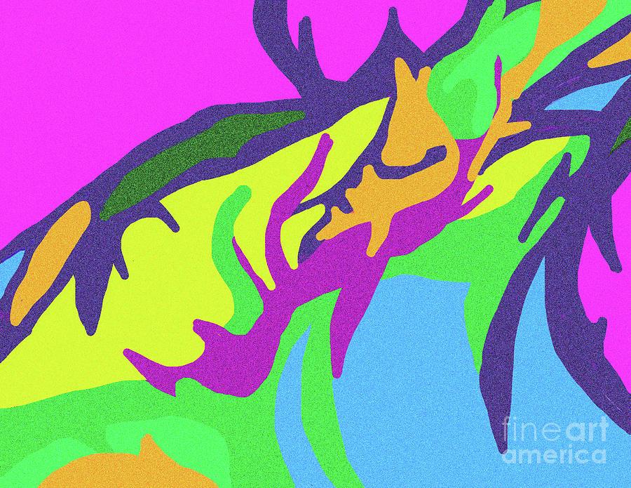 Ice Cream Swirl Digital Art