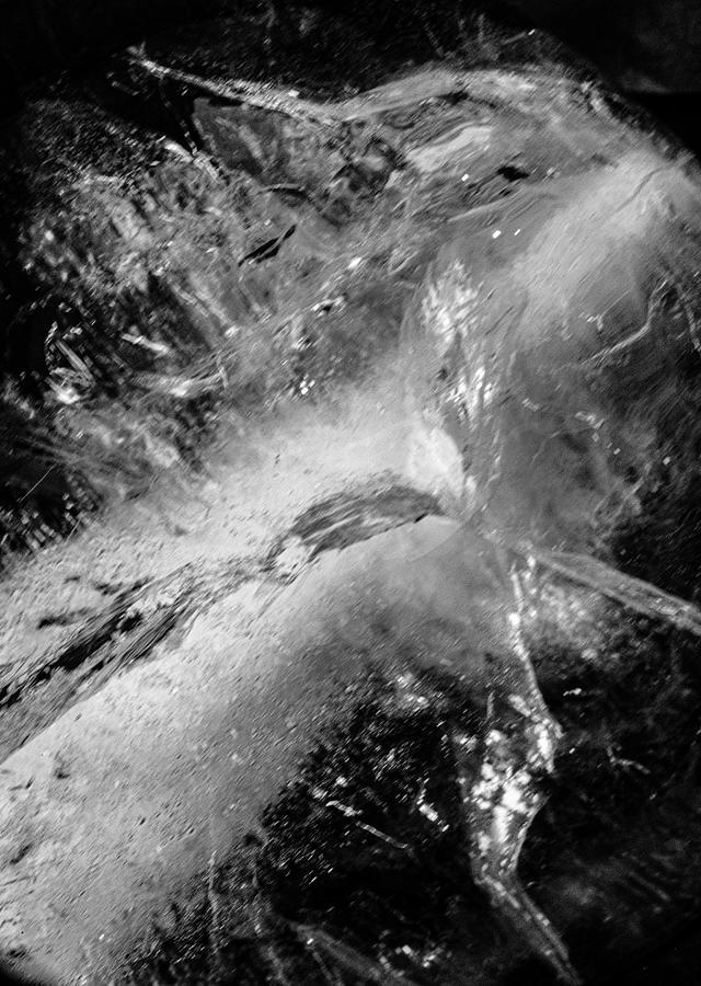 Ice Cubes 1832 Photograph