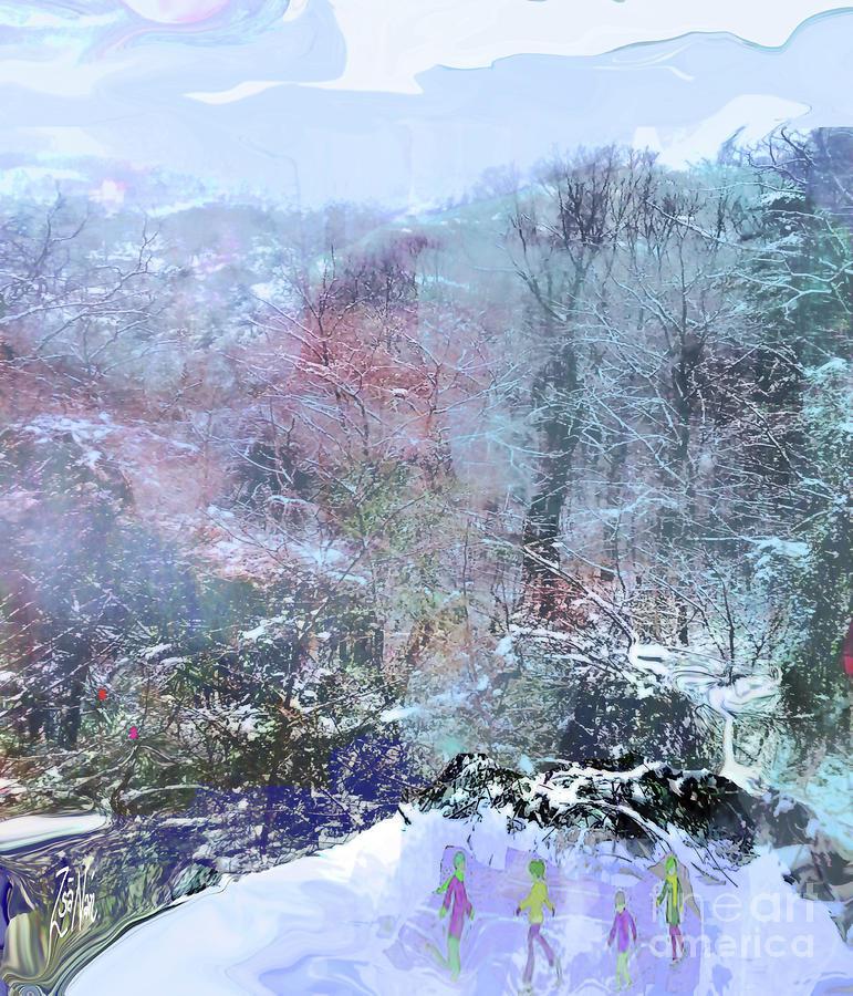 Ice Dancing by Zsanan Studio