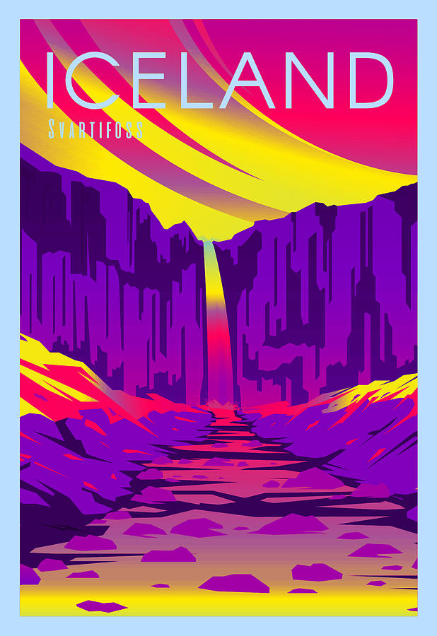 Iceland Digital Art