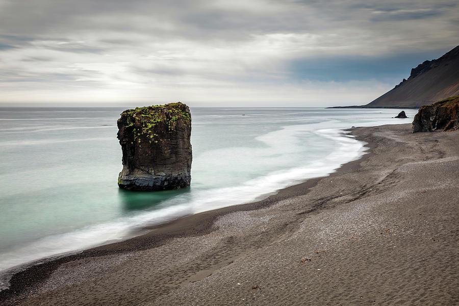 Iceland Coastline Photograph