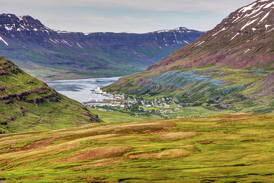 Iceland East Fjords Photograph